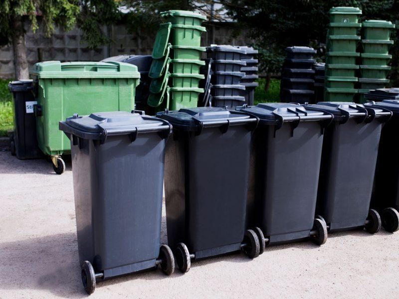 Atliekų konteineriai